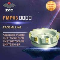 ZCC. CT fresas rosto FMP03 originais de alto desempenho CNC torno ferramentas ferramentas ferramentas de fresagem indexável faceamento