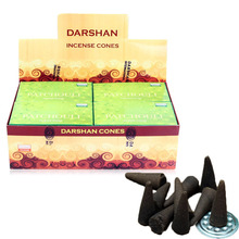 Free shipping Patchouli Incense Cones India Handmade Scented Perfume Yellow-flowered Tower Incenses Buddha supplies