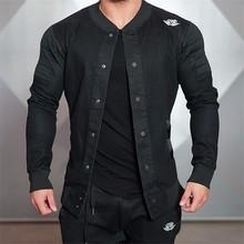 2016 Top Qualität Boutique Marke Jacke Männer Männer Slim Fit Casual Jacken Für Männer Chaqueta Hombre