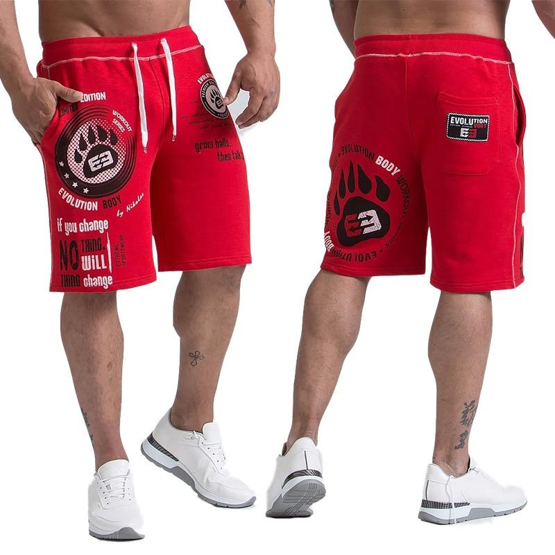 New Shorts Men's Calf-Length Summer Fitness Bodybuilding Casual Joggers Workout Brand Sporting Short Pants Sweatpants Sportswea