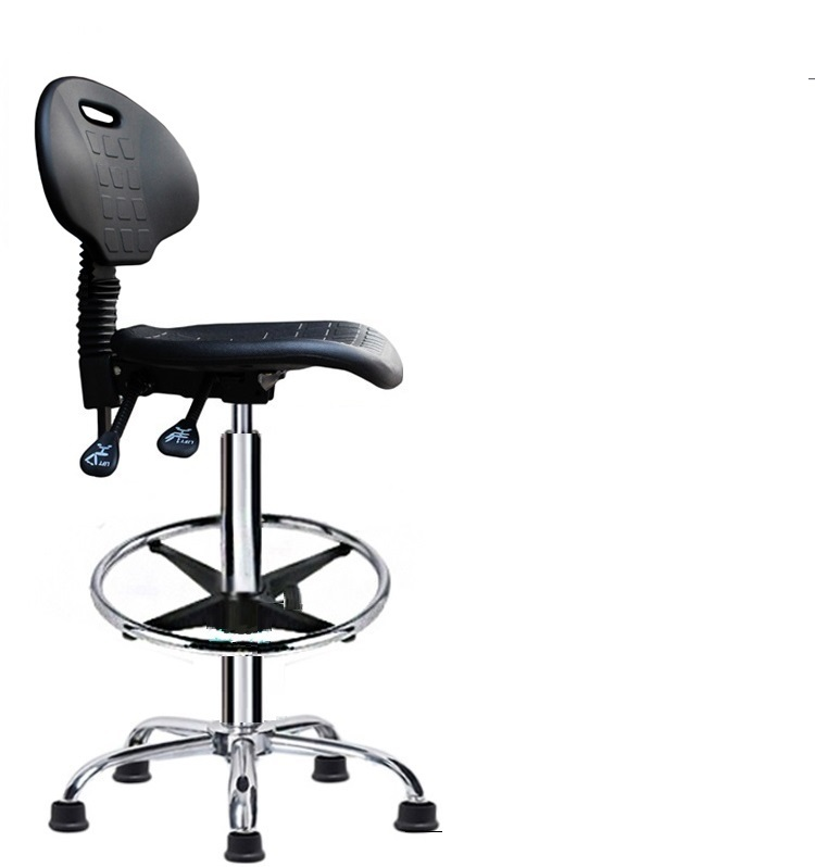 цена foot nail workshop lift rotation chair PU seat Laboratory chair testing workshop stool free shipping
