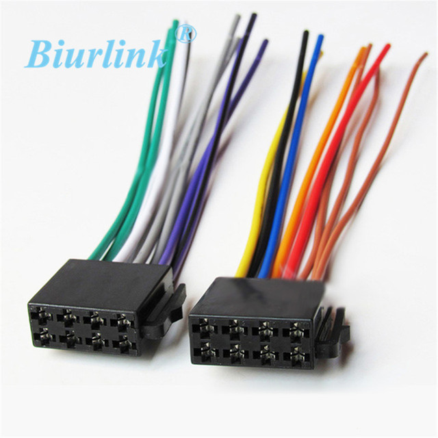 Enjoyable Universal Iso Wire Harness Adapter Cable Radio Wiring Connector Wiring Digital Resources Arguphilshebarightsorg