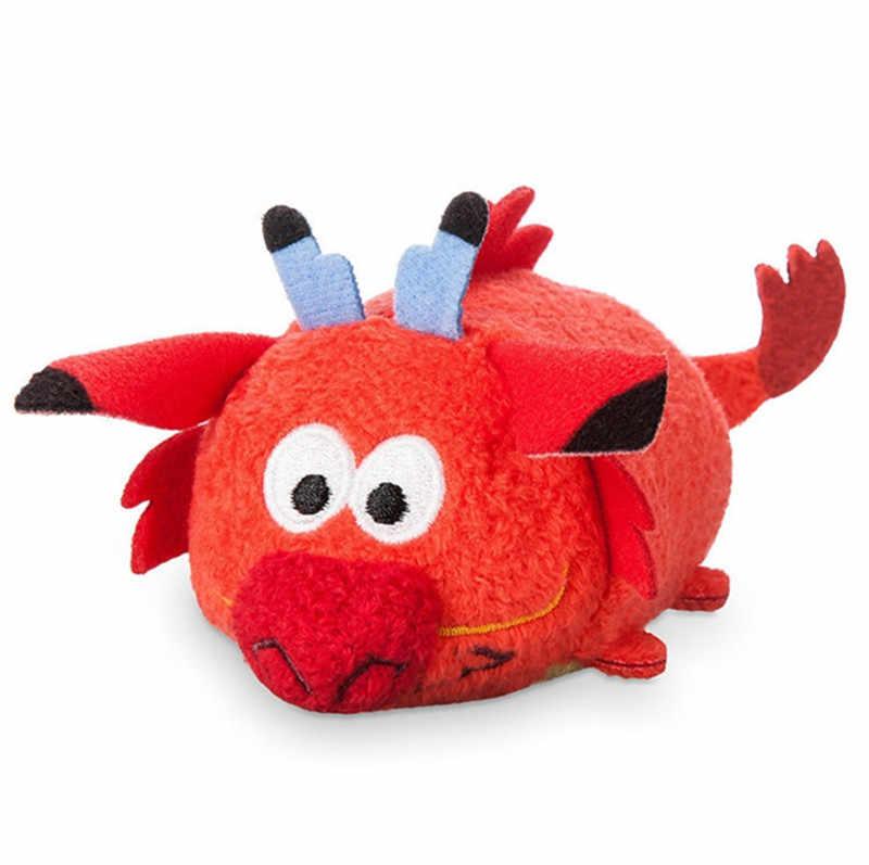 Mushu 赤ドラゴンぬいぐるみかわいいかわいいミニスタックスマートフォン画面クリーナー女の子子供おもちゃ子供のギフト