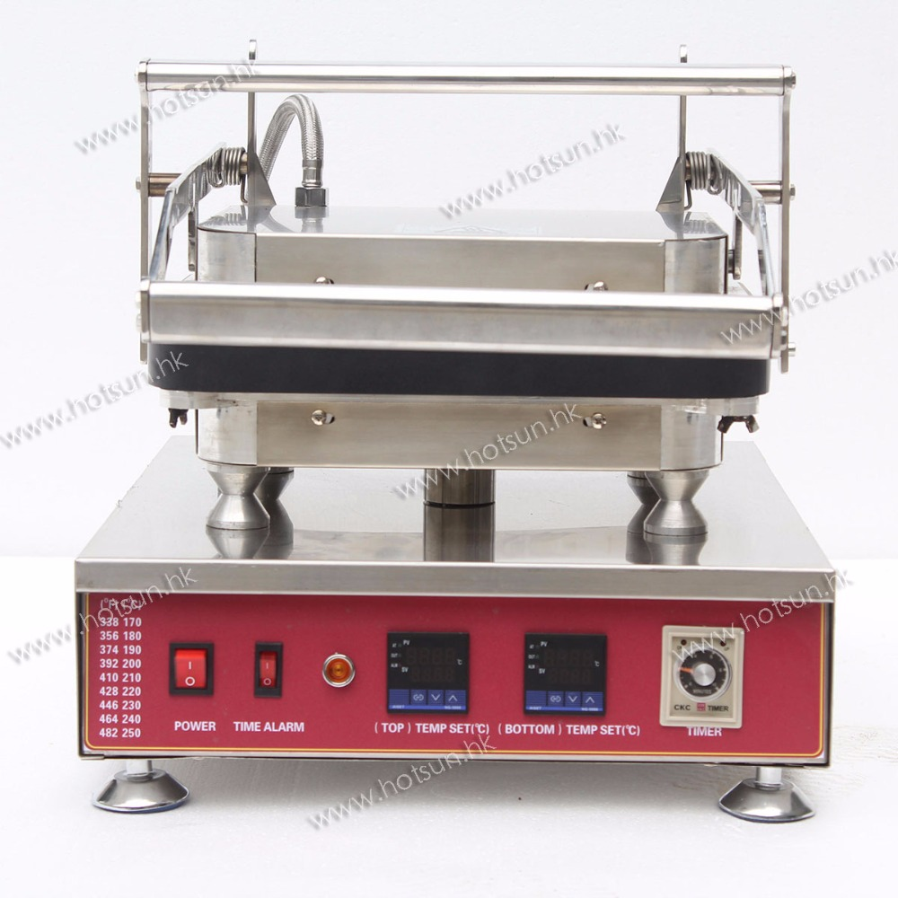 Commercial Non stick 110V 220V 30pcs Electric Tarlet Ice Cream Corn Bowl Machine with Removable Plate