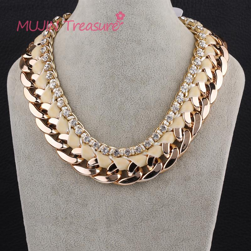spectacular crystal s necklace bold chunky p gold rings large jewellery stunning costume big fashion women htm