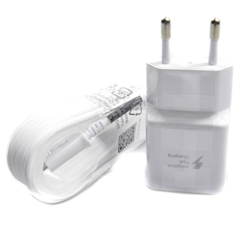 Új Usb Eu Plug utazási adapter fali töltő 1,5 m-es mikro - Mobiltelefon alkatrész és tartozékok