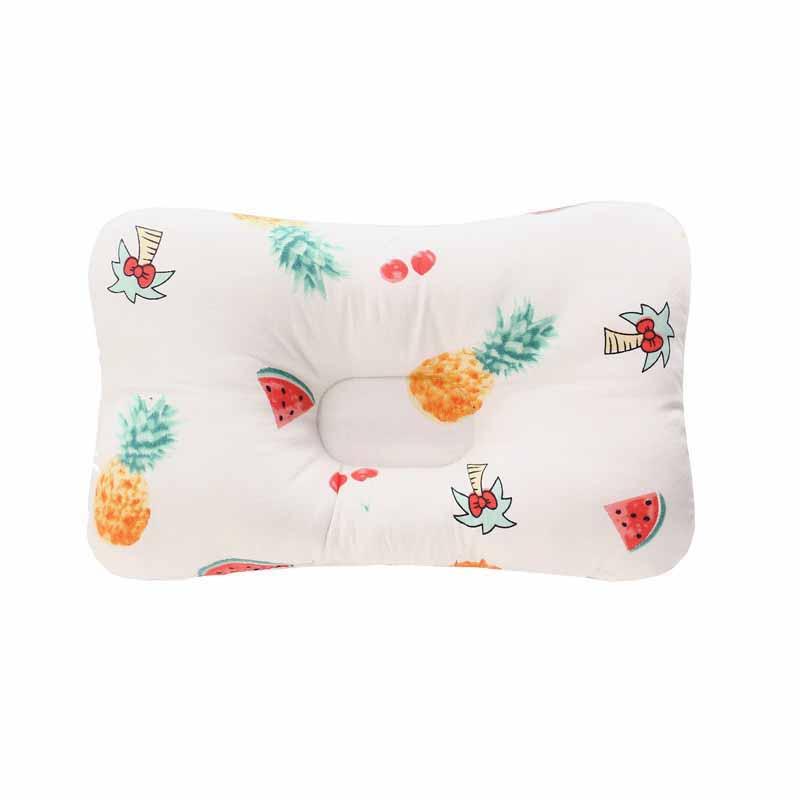 Подушка для младенца, подушка для защиты головы, детское постельное белье, Младенческая подушка для кормления малыша, позиционер для сна против скатывания - Цвет: Красный