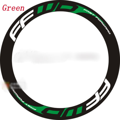 2017 Road Bike Bicycle two Wheels set rim replacement Stickers for FFWD F6 vinyl decals depth 48 mm free shipping