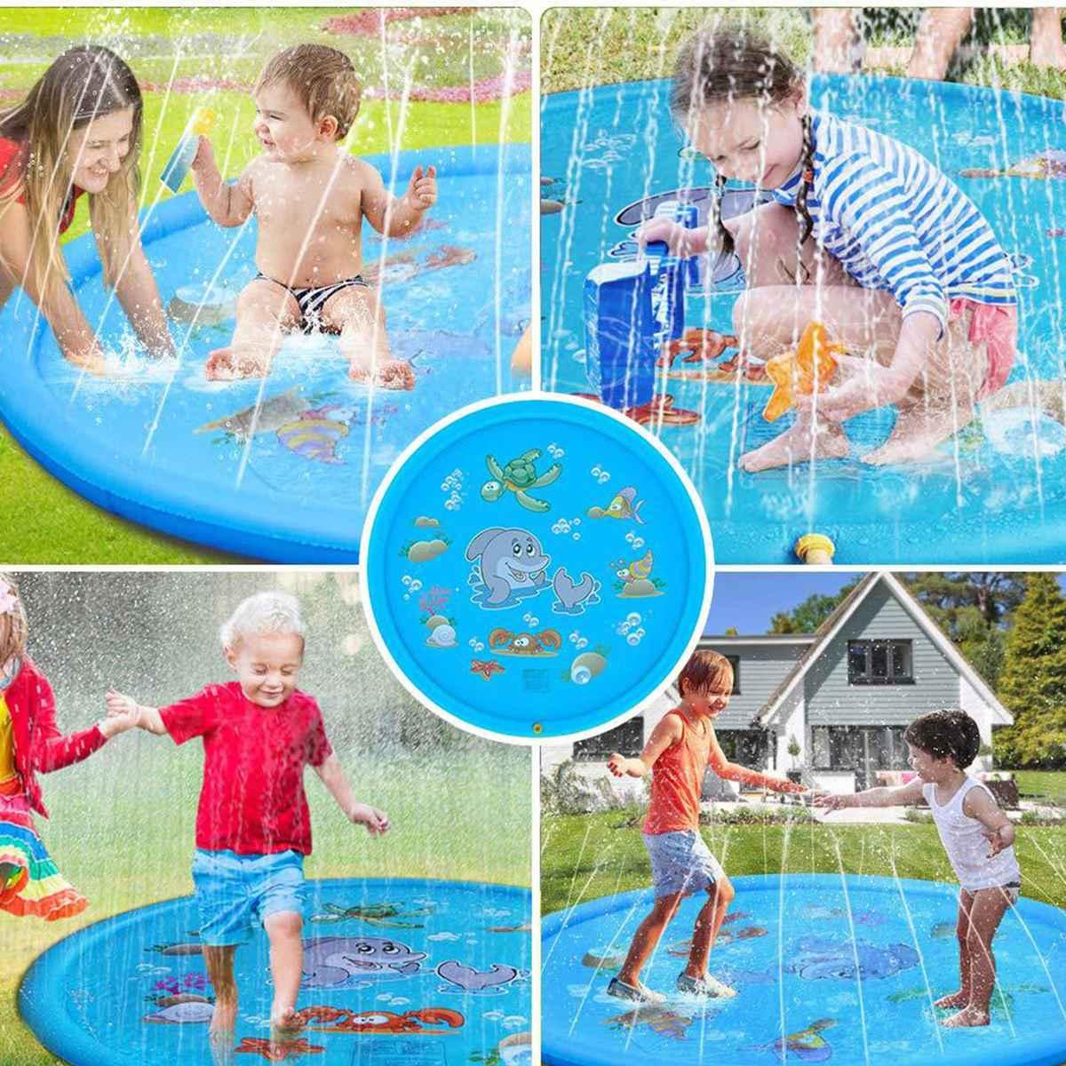 Kids inflatable pool