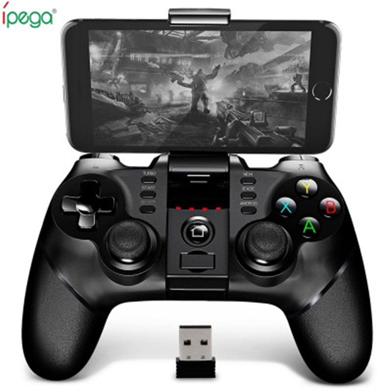 Originale Ipega Pg-9076 Bluetooth Wireless Gamepad Con 2.4G Ricevitore Wireless Bluetooth Supporto Android ios Game Console Player