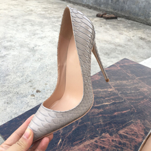 Free shipping  fashion women pumps grey snake printed patent leather pointed toe high heels shoes pumps 12cm 10cm 8cm Stiletto free shipping fashion women pumps casual green patent leather printed pointed toe high heels shoes 12cm 10cm 8cm stiletto heels