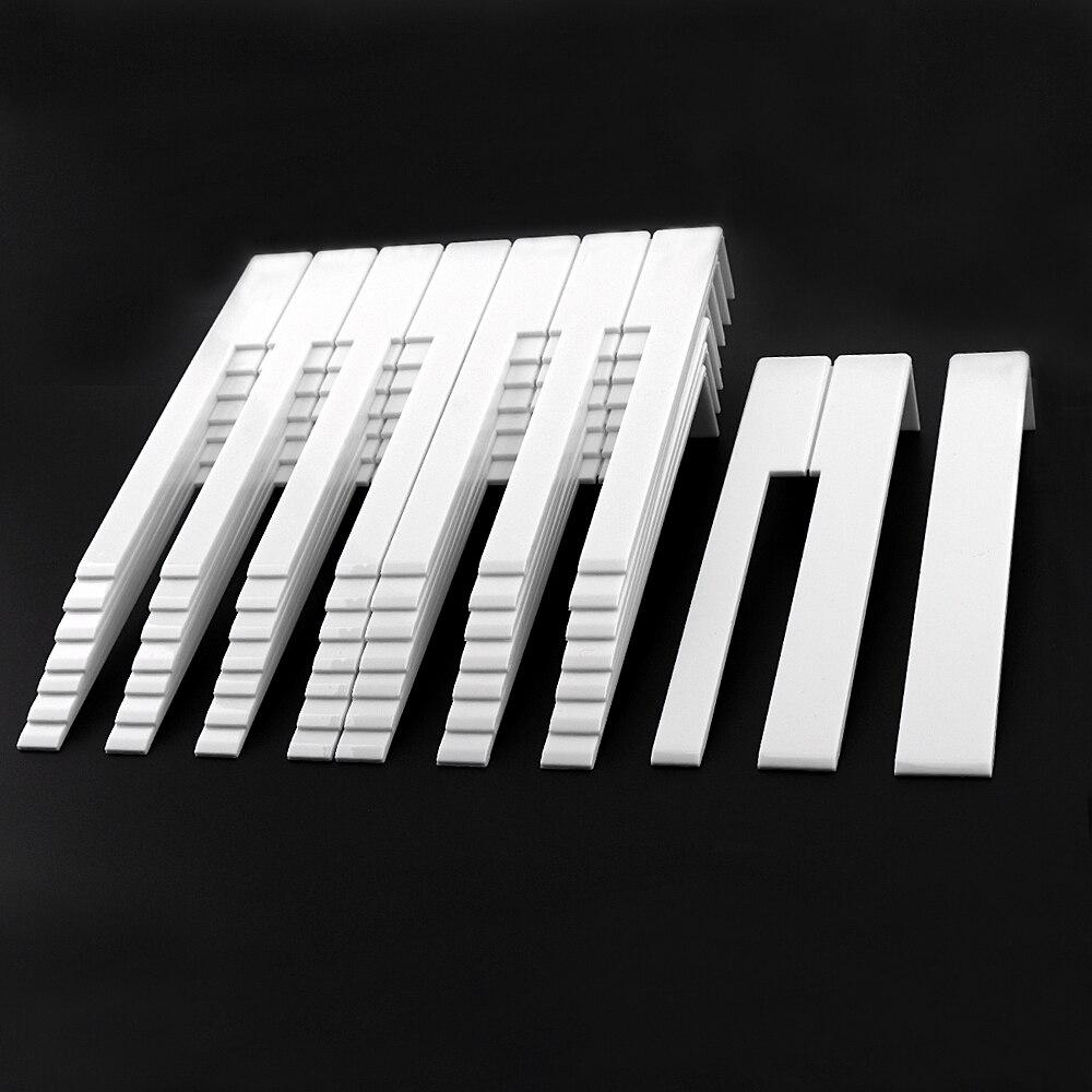 52pcs/lot Piano Accessories White Piano Keytop Repair Parts For Piano