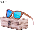 RTBOFY New fashion Products Men Women Glass Bamboo Sunglasses au Retro Vintage Wood Lens Wooden Frame Handmade And the Box. ZA03