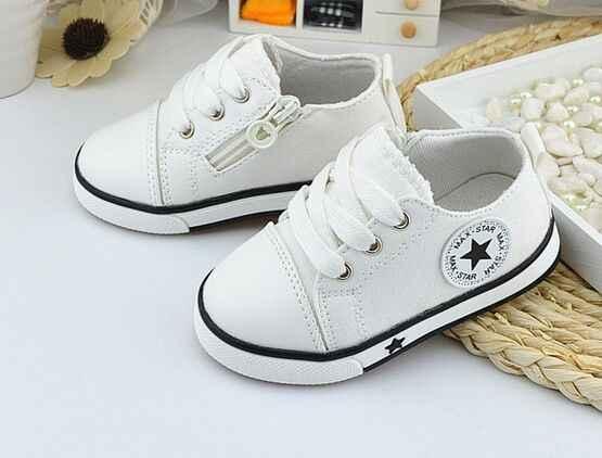 Eur21-25/zapatos de lona de primavera para niños, zapatos transpirables para niñas, zapatillas suaves para niños y niñas, sin olores