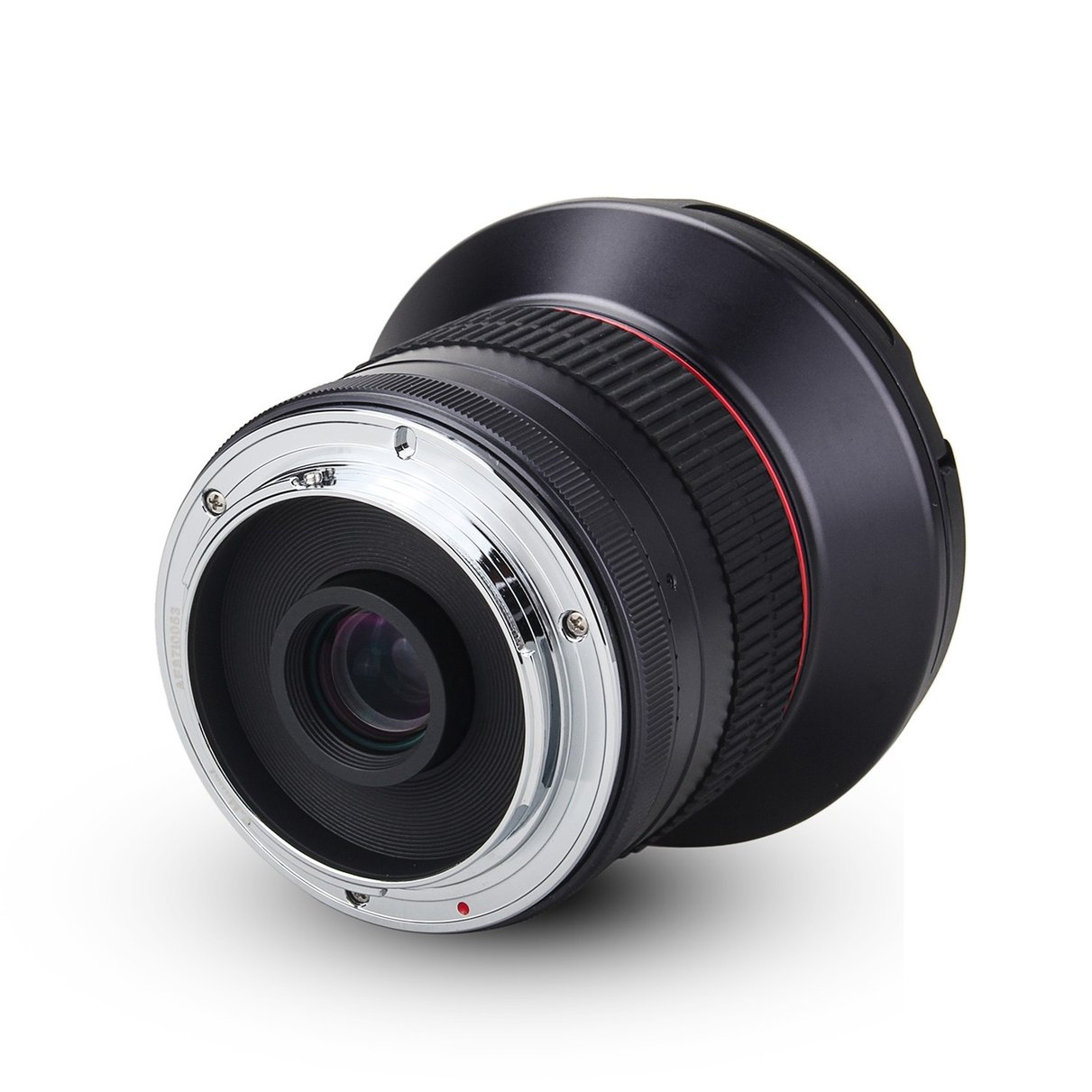 Meike 12mm f/2.8 lente ultra gran angular fija con capucha extraíble para Sony Alpha y NEX sin espejo cámara de montaje en e A7 A7S A7R II