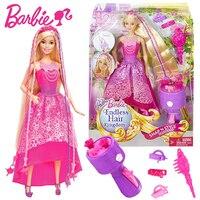 Original Barbie Fashion Doll Beautiful Long Hair Princess Barbie Doll Children Birthday Christmas Gift Toys For