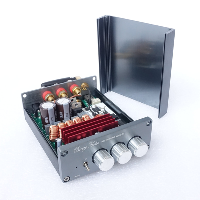 TPA3116 2.1 + Bluetooth 4.0 Stereo Digital Power Amplifier 50W*2 +100W BASS цена