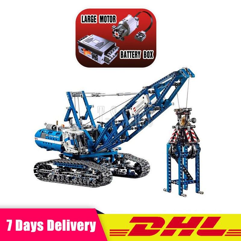 LEPIN 20010 Genuine Technic Mechanical The Crawling Crane Set Building Blocks Bricks Educational Toys Clone 42042 ювелирное изделие 20010