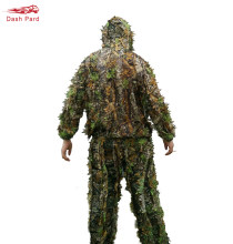 Hunting clothes New 3D maple leaf Bionic Ghillie Suits Yowie sniper birdwatch airsoft Camouflage Clothing jacket and pants(China)