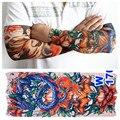 Татуировки рукавом велоспорт подогреватели мужчин панк мода нейлон эластичный временный орган живопись Tatouage новый оптовая продажа вы выбираете