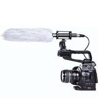 BOYA BY PVM1000L Professional Condenser Shotgun Camera Interview Microphone For Studio DSLR Camera With 1 5m