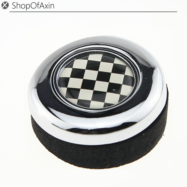 checkerboard finish racing flag chrome polished finish engine start