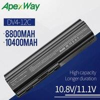 8800mAh laptop battery for HP Pavilion dv6 2100 dv6t dv6z for COMPAQ Presario CQ50 100 CQ40 CQ41 CQ45 CQ50 CQ60 CQ61 CQ61z CQ70