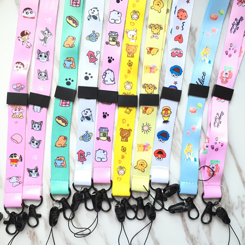 Accessories Multi-Purpose Hand Wrist Strap with Cute Cartoon