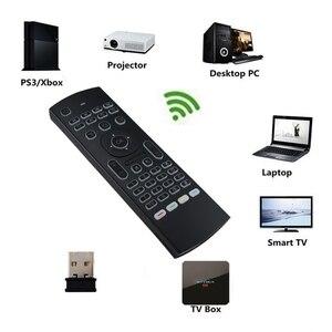 Image 5 - MX3 音声バックライトエアマウスT3 googleスマートリモコンir 2.4 2.4g rfワイヤレスキーボードX96 ミニH96 最大X2 プロアンドロイドテレビ