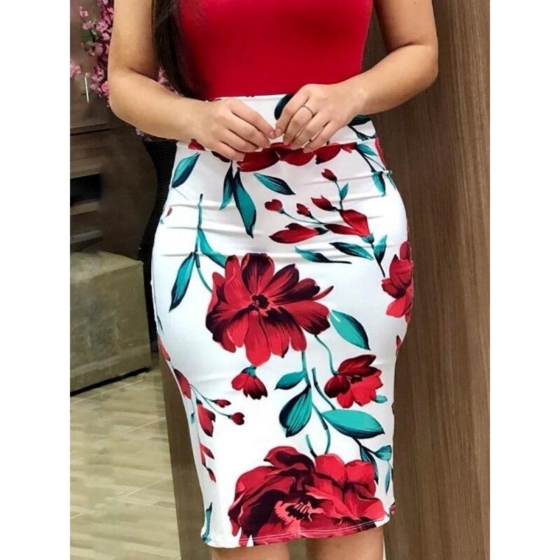 e1ae701e Comprar Verano mujeres elegantes vestido moda Casual Sexy O cuello de manga  corta de alta cintura Vintage impresión Floral Maxi Colorblock vestidos  Online ...
