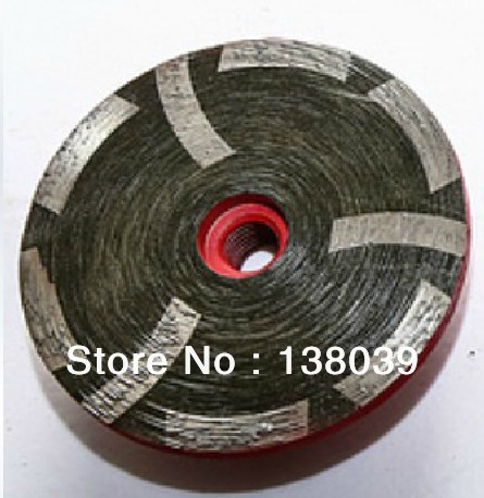 100mm Resin Filled Diamond Cup Wheel For Granite And Marble  Hot Pressed