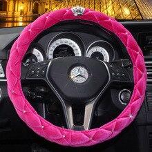 Steering Wheel Cover – Diamond Crystal Crown Styling