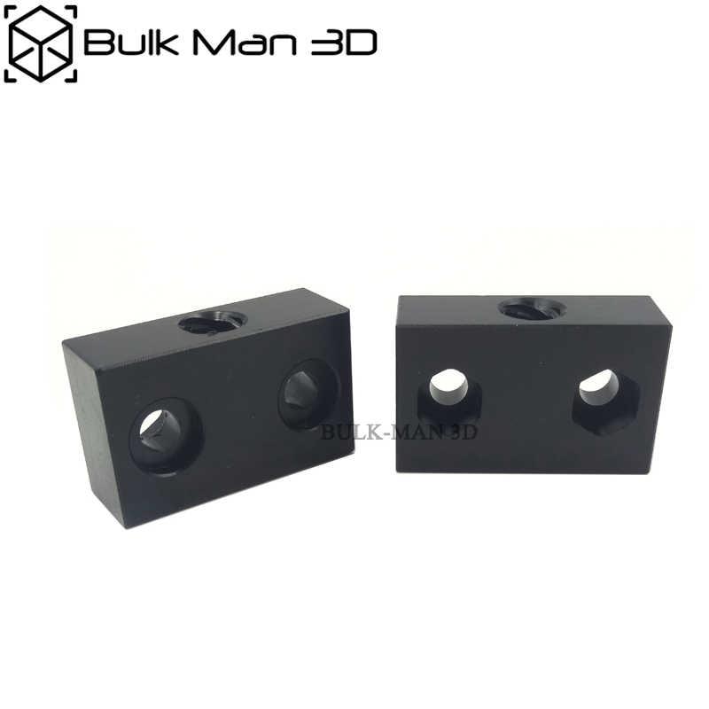 3D เครื่องพิมพ์ Openbuilds POM ACME Nut สำหรับ 8mm เมตริก Acme สกรูตะกั่ว 8 มม.เกลียวเกลียว Rod Trapezoidal เมตริก acme Tap T8