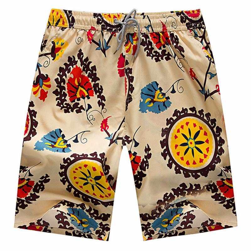 2018 gorąca sprzedaż szorty mężczyźni lato spodenki plażowe Homme na co dzień luźne elastyczne moda krótki masculino marka odzież Plus rozmiar 4XL