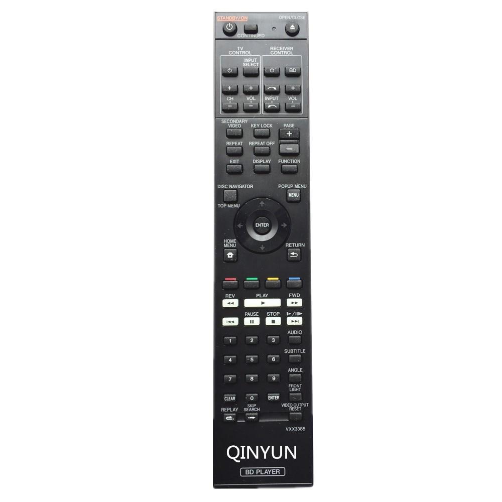 VXX3385 Remote Control For Pioneer BDP-LX54 BDP-LX55 LX53 LX52 Blu Ray DVD player deko giec bdp g3606 blu ray dvd плеер 3d hdmi высокой четкости dvd плееры
