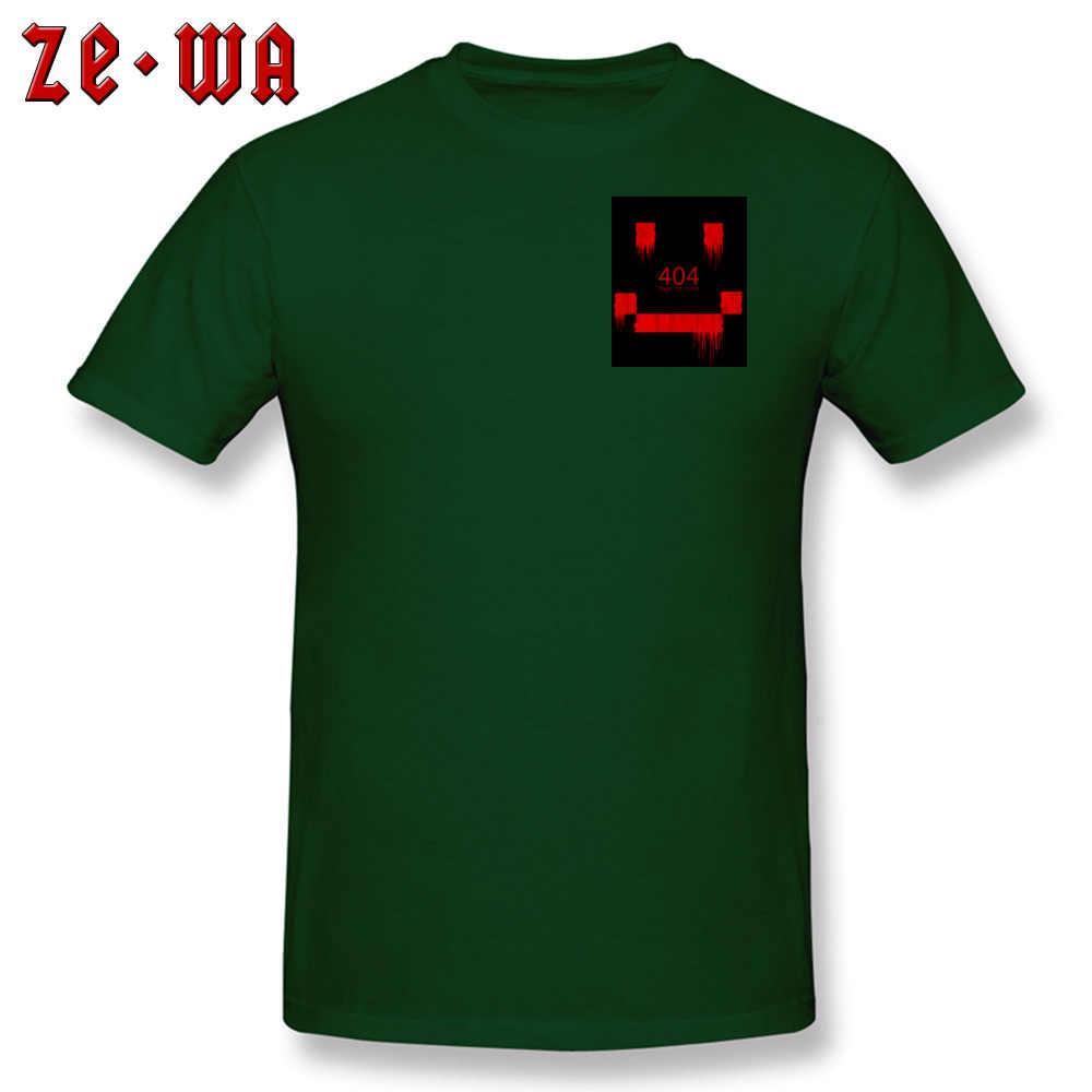 404 T Shirt Geek Erkekler Üst T-shirt Bir Hata Var Occurred % 100% Pamuk Yuvarlak Boyun Kısa Kollu Normal Tee Gömlek yaz/Sonbahar