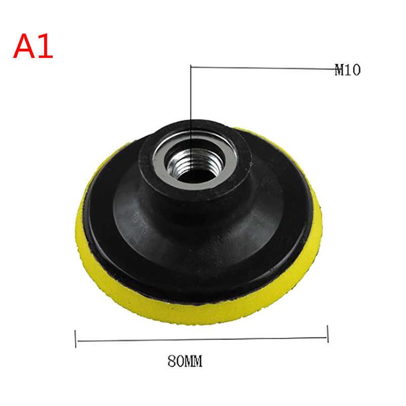 Полировальная машинка для автомобилей с эксцентриковым, капота Dia.80/100/150 мм угловой шлифовальный круг шлифовальный бумажный диск Авто полировальный станок для подложка