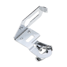 1pcs 1/4 Roll Edge Home Sewing Machine Foot Metal 6mm Crimping Edge Presser Foot for Multifunction Sewing Machine 29302 1pcs locking edge sewing edge sewing machine foot 7310 metal household multifunction presser feet for sewing machine accessories
