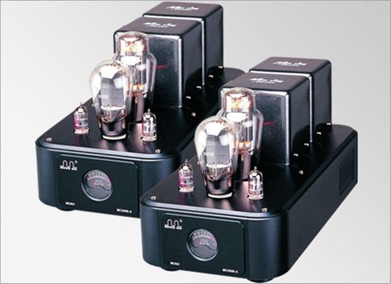 Meixing mingda MC300-C Mono Vacuum Tube Amplifier 6SN7*2 Push Full Music 300B*2 Class AB1 Power Amplifier 25W*1 110V/220V