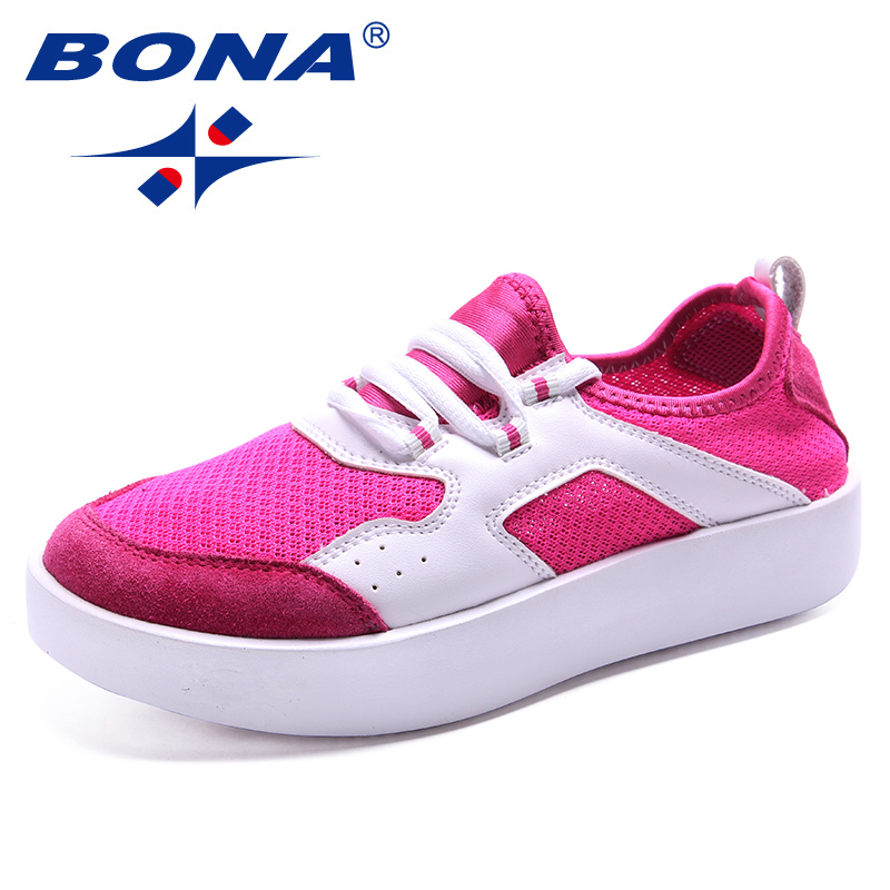 BONA New Arrival Classics Style Women Casual Shoes Lace Up Women Flats Mesh Lady Shoes Comfortable Lady Loafers Free Shipping 2017 new sbart diving wetsuits camouflage 3mm neoprene wetsuit spearfishing camo swimming surfing diving neoprene wet suit