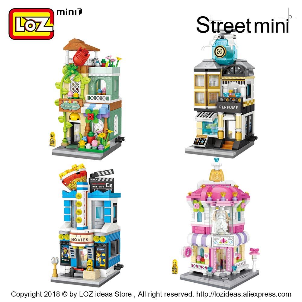 LOZ Mini Nano Diamond Building Block Shopping Street Building Block LITTLE BEA