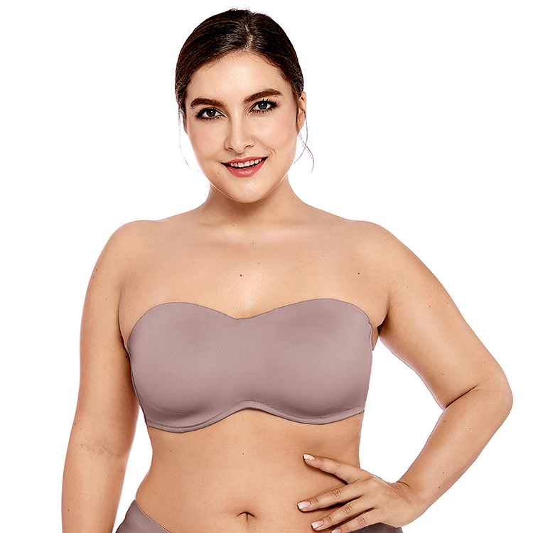 Delimira-Women-s-Smooth-Seamless-Invisible-Full-coverage-Underwire-Unlined-Strapless-Minimizer-Bra-Plus-Size (1)