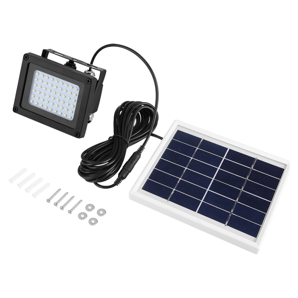 Solar Powered 54 LED Sensor Light Waterproof Outdoor Garden Stairs Patio Security Lamp-in Solar Lamps from Lights & Lighting    1