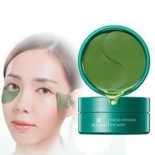 60pcs Black algae Crystal Eye Mask Gel Eye Patches Eye Care Sleep Masks Remover Dark Dircles Anti Age Bag Eye Wrinkle Patch