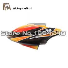 free shipping wl v911 Rc helicopter spare parts canopy for WLTOYS Accessory