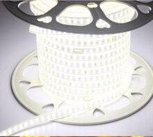 180led/m SMD 2835 LED Strip light 220V 230V 240V Double Row LED tape rope ribbon for Home Garden Decoration 1m 2m 5m 10m 100m