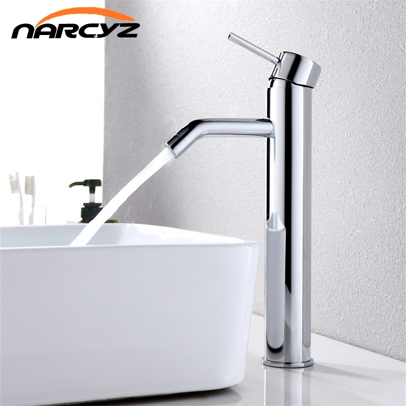 Narcyz New Basin sink faucet water mixer water tap toneir bath faucet brass bathroom mixer tap wash basin sink XT524 high quality new arrival kitchen faucet black brass hot and cold water tap sink mixer tap wash basin faucet 4 colors basin mixer