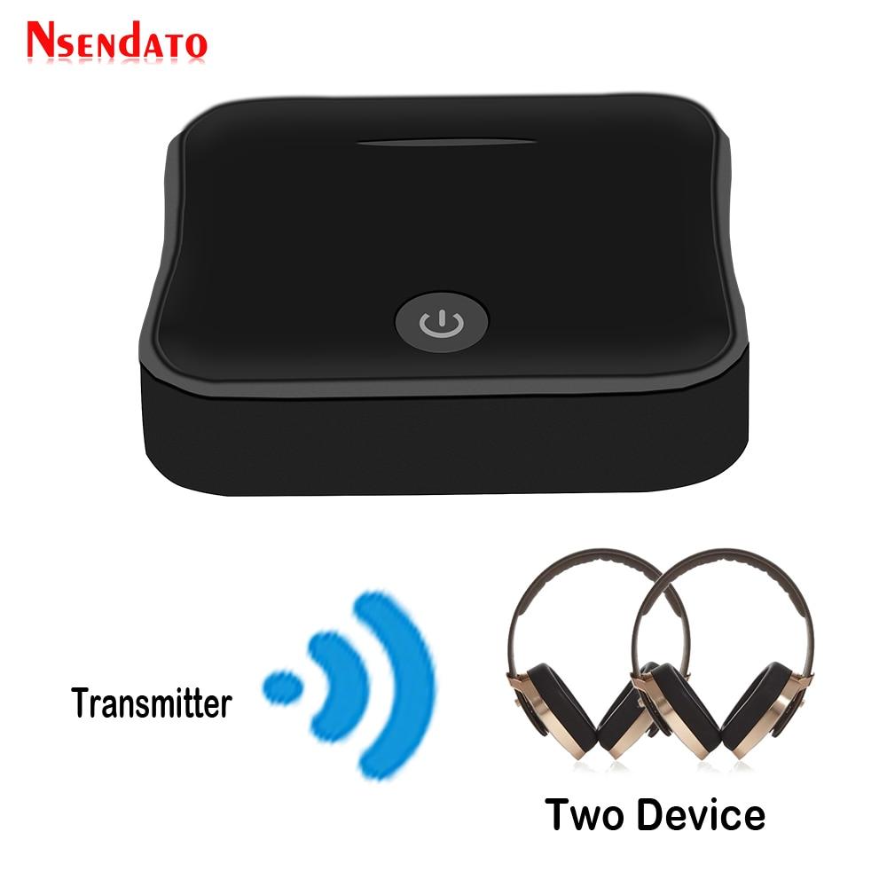 Bluetooth 5.0 אלחוטי אודיו מתאם 2 ב 1 משדר אלחוטי מקלט טלוויזיה הדיגיטלי האופטי Toslink/SPDIF עם CSR8675 APTX-HD