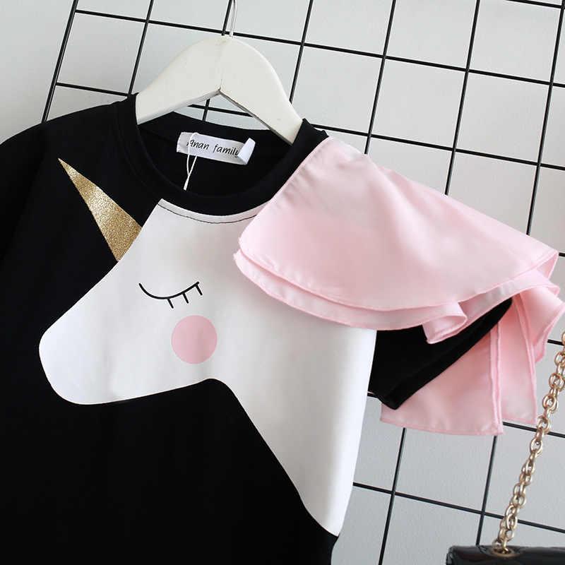 Unicorn Dress Mamma e Figlia Vestito Fmaily Look Vestiti Da Madre Figlia di Corrispondenza Vestiti Mommy and Me Vestiti unicornio