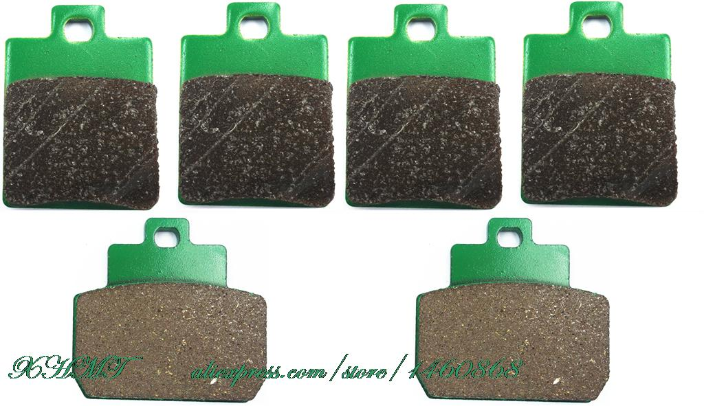 Brake Pads Set for PIAGGIO MP3 125 ie 2006 & up/ 250 2007 & up/LT 400 ie 2009 & up цена